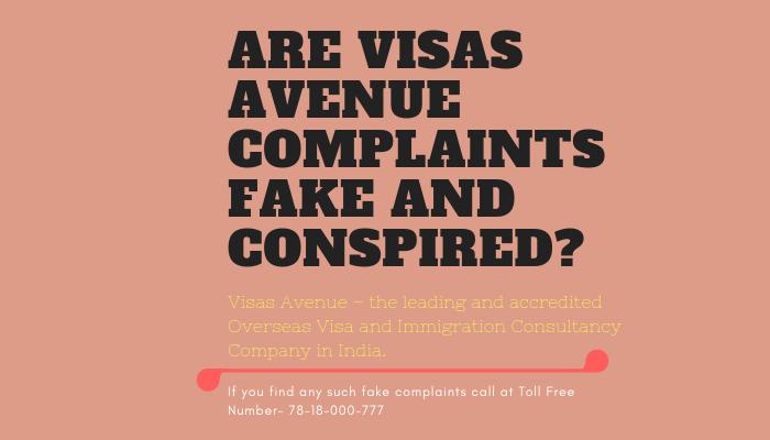 Visas Avenue fake complaint